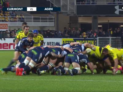 ASM Clermont - SU Agen : résumé du match
