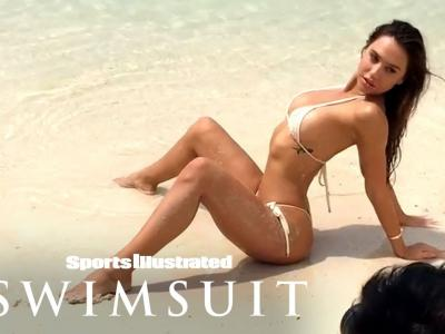 Alexis Ren , ''Behind The Scenes'' pour Sports Illustrated Swimsuit