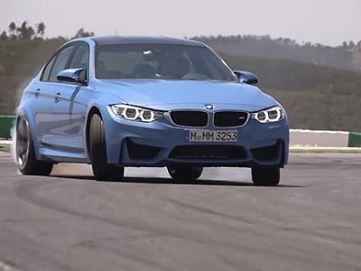 Quand Chris Harris teste la BMW M3, les pneus pleurent