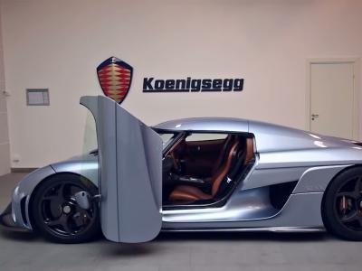 Koenigsegg donne vie à la Regera grâce au système Autoskin