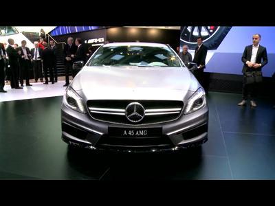 Genève 2013 : Mercedes A 45 AMG