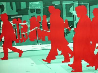 Le Pop Art engagé de Gérard Fromanger, visite de l'exposition.