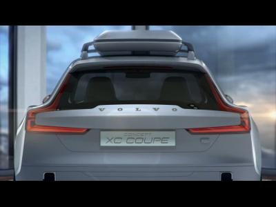 Teaser vidéo pour le Volvo XC Coupé