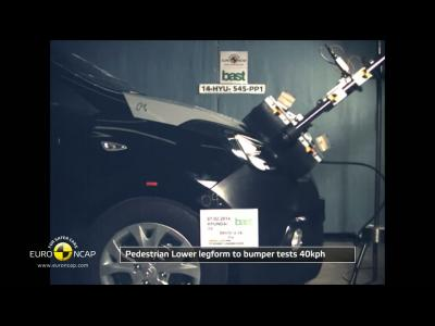 Le crash-test de la Hyundai i10 en vidéo