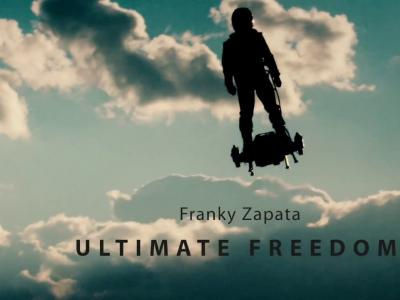 Breitling et Franky Zapata pour le Flyboard® Air