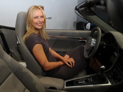 Maria Sharapova au service de Porsche