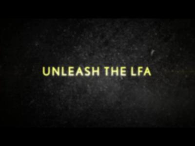 Une Lexus LFA boostée en approche