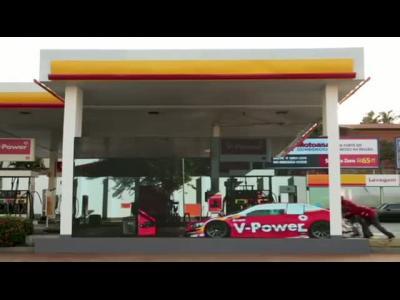 Shell et V-Power Ethanol