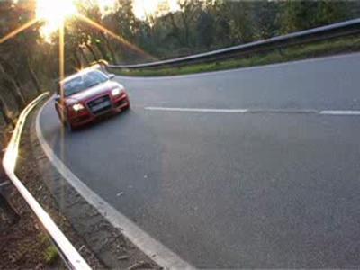 Essai Audi RS4