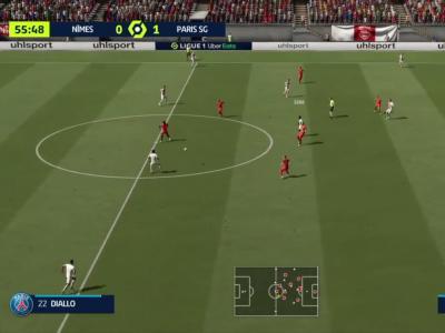 Nîmes Olympique - Paris Saint-Germain : notre simulation FIFA 21 (L1 - 7e journée)