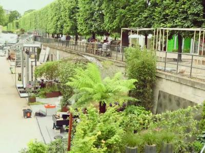 Les coulisses de Jardins, jardin aux Tuileries