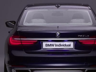 BMW Série 7 Individual ''The next 100 years''