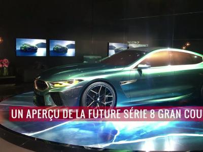 Le concept BMW M8 Gran Coupé en vidéo depuis le salon de Genève 2018