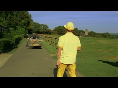 Les vacances de Brad Pitt façon Mr Hulot