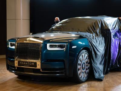 Rolls-Royce Phantom : l'exemplaire personnalisé Iridescent Opulence en vidéo