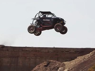 Des images d'un buggy Polaris réalisées par l'équipe vidéo de Ken Block