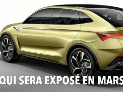 Skoda Vision X : les croquis du SUV entrée de gamme