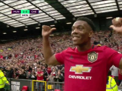 Manchester United - Chelsea : Anthony Martial double la mise !