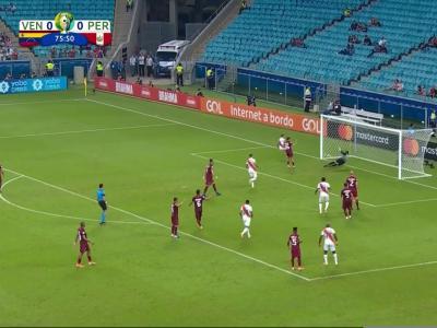 Copa America : le fabuleux arrêt de Farinez !