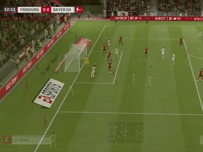 SC Fribourg - Bayer Leverkusen sur FIFA 20 : résumé et buts (Bundesliga - 29e journée)