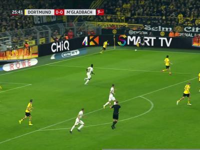 Dortmund - Mönchengladbach : le but et le résumé de la rencontre