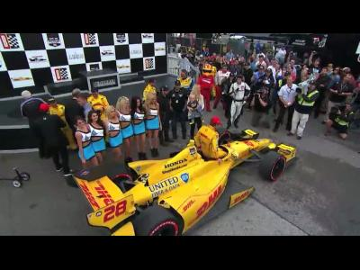 Indycar - Alabama : Hunter-Reay se rachète