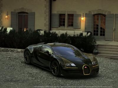 La Bugatti Veyron Grand Sport '' Black Bess '' en vidéo