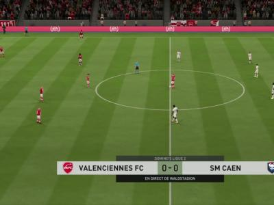 Valenciennes FC - SM Caen : notre simulation FIFA 20 (L2 - 29e journée)