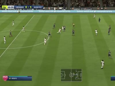 L1 - 6ème journée : notre simulation FIFA 20 de Bordeaux - Dijon FCO