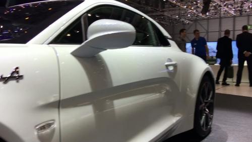Alpine A110 Pure et Légende : présentation vidéo depuis le salon de Genève 2018