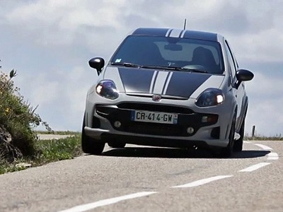 L'Abarth Punto SuperSport sur les routes du Monte-Carlo