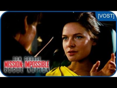 Vidéos : Rebecca Ferguson est Ilsa Faust | Mission:Impossible Rogue Nation