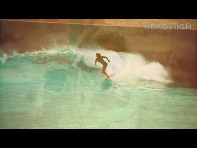 Une vague en plein désert pour surfeur sans scrupules