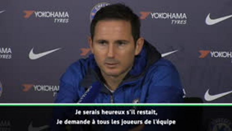 """Chelsea - Lampard : """"Je serais heureux si Giroud restait"""""""