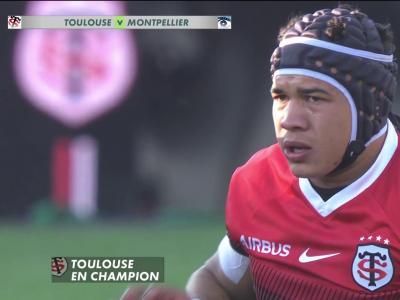 Stade Toulousain - Montpellier : résumé et essais du match en vidéo