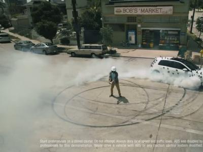 Une Golf GTI recouverte de GoPro
