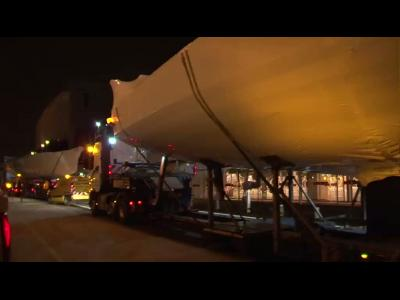 Nautic 2013 : arrivée des bateaux
