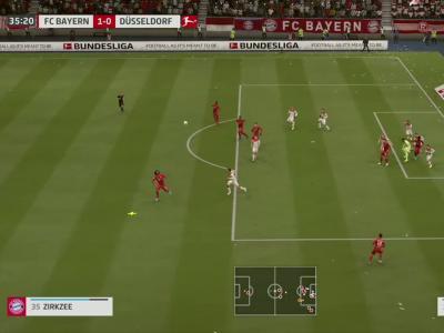 Bayern Munich - Düsseldorf sur FIFA 20 : résumé et buts (Bundesliga - 29e journée)