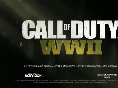 Call of Duty WWII : trailer d'annonce du FPS (VOST)