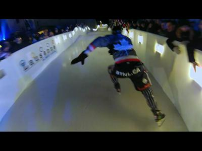 Le Red Bull Crashed Ice revient en Suisse