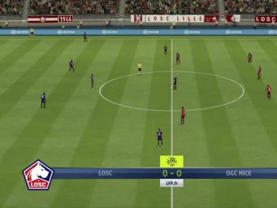 LOSC - OGC Nice sur FIFA 20 : résumé et buts (L1 - 33e journée)