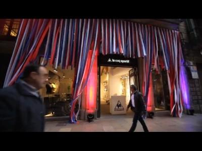 Le coq sportif ouvre une boutique à Barcelone