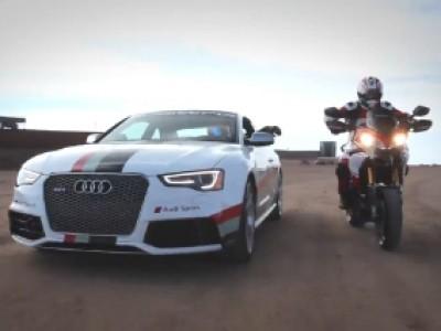 Audi présente sa RS5 spéciale Pikes Peak