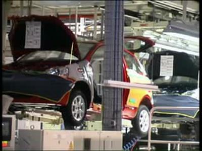 Présentation du site de production Toyota France