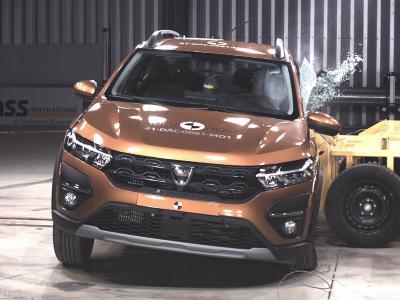 Nouvelle Dacia Sandero Stepway (2021) : le crash-test Euro NCAP