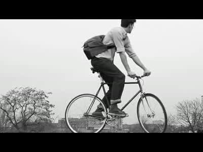 A vélo mais avec élégance