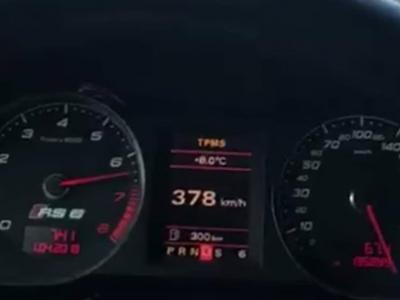 Audi RS6 à 378 km/h : info ou intox ?