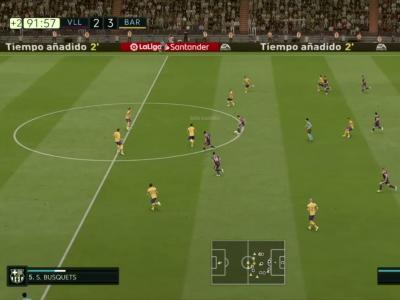 Real Valladolid CF - FC Barcelone sur FIFA 20 : résumé et buts (Liga - 36e journée)