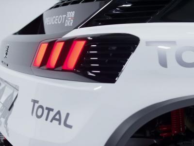 Le nouveau Peugeot 3008 s'engage au Dakar