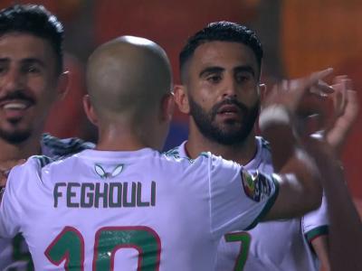 CAN 2019 / Algérie - Nigeria : le but des Fennecs